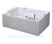 Акрилова ванна Iris TLP-680 з гідро та аеромасажем 170х120х67 см