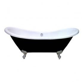 Акриловая ванна Atlantis C-3140 черная c переливом