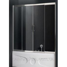 Штора для ванны Atlantis PF-16-1 140-160x150 см