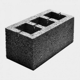 Отсевблок стеновой 19x19x39 см