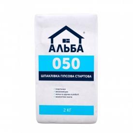 Шпаклевка Стартовая Альба Start 2 кг