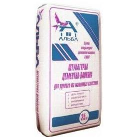 Штукатурка цементно-вапняна м/н Альба MP CEMENT 25 кг