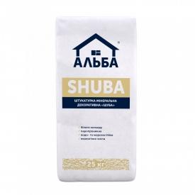 Штукатурка декоративная акриловая Альба Shuba 25 кг