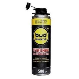 Очиститель монтажной пены Budmonster 500 ml