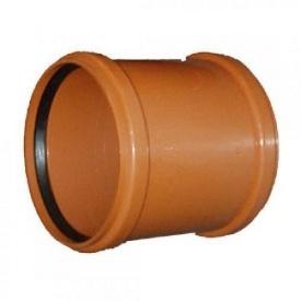 Муфта соеденительная для наружной канализации 110 мм