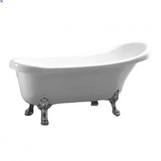 Акриловая ванна Atlantis C-3000 ножки серебро (без перелива) 170 х74 х78