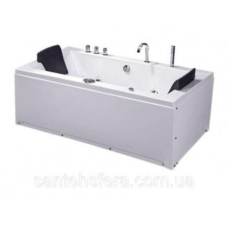 Акрилова ванна Iris TLP-658 з гідро та аеромасажем 180х90х76 см