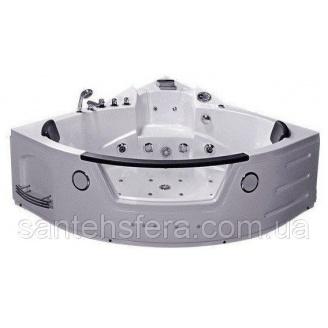 Акрилова ванна Iris TLP-632 с гідро та аеромасажем кутова 152х152х66 см