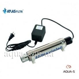 Нержавіючий корпус для ультрафіолетової лампи Atlas Filtri для систем зворотнього осмосу RE7402021