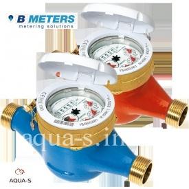 """Счетчик воды BMeters GMDM-I многоструйный мокроход DN 1/2"""" 2,5 м3/ч до 30°С"""