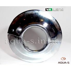 """Декоративна чашка розбірна ALBERTONI 3/4"""" 28 мм сталева хром"""