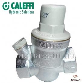 """Редуктор давления мембранный для воды Caleffi 1/2"""" до 60° С с гнездом для манометра"""