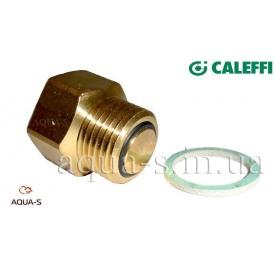 """Відсікаючий клапан для повітрявідводчика 3/8"""" Caleffi"""