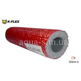 Теплоизоляция для трубопровода из вспененного полиэтилена K-FLEX PE 22x6 мм красная