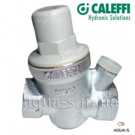 """Редуктор давления мембранный для воды Caleffi 3/4"""" до 60°С с гнездом для манометра"""