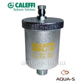 """Автоматичний повітровідвідник з кульовим краном для сонячних систем опалення Caleffi 3/8"""""""