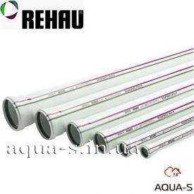 Каналізаційна безшумна труба Rehau Raupiano Plus 110х2000 мм