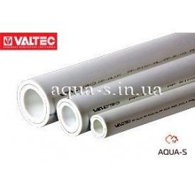 Труба для отопления Valtec PP-ALUX с алюминием PN 25 DN 40 белая