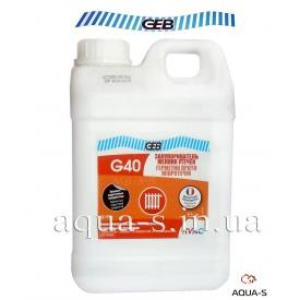 Засіб для усунення мікротріщин в системах опалення та водопостачання GEB G40 1 л