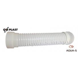 Гофра армированная для подключения унитаза к канализации 110х540 мм Go-Plast