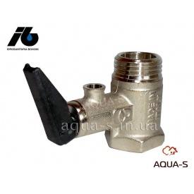 """Клапан предохранительный на 8,5 бар с рычагом для электрических водонагревателей 1/2"""" Idrosanitaria Bonomi"""