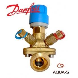 Клапан автоматический балансировочный комбинированный Danfoss AB-QM DN 20