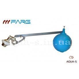 """Клапан поплавковый латунный для емкостей с поплавком 1"""" FARG до 110°С"""