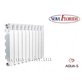 Алюминиевый радиатор Nova Florida Desideryo B4 350 7 секций 981W 350х100 G1 16bar