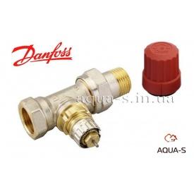Прямой радиаторный клапан Danfoss RA-N 15 (013G0014)