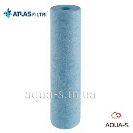 """Картридж антибактеріальний Atlas CPP SANIC 10"""" SX 50 mcr зі спіненого поліпропілену 80°С Atlas"""