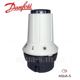 Термостатическая головка для радиаторов Danfoss RAS-C Click крепление на клике 8-28°С