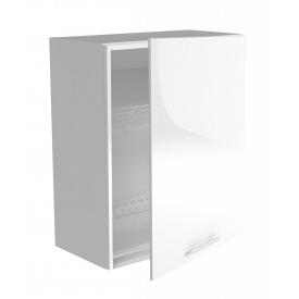Верхний шкаф с сушилками для посуды Halmar Vento GC-60/72 Белый
