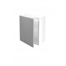 Верхний шкаф с сушилками для посуды Halmar Vento GC-60/72 Светло-серый