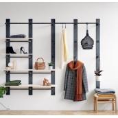 Навісна вішалка-стелаж для одягу в стилі LOFT (Hanger - 71)