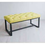 Банкетка-пуф для передпокою в стилі LOFT (Sofa-85)