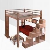 Двоярусне ліжко в стилі LOFT (Bed-034)