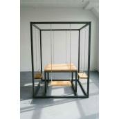 Садовий стіл в стилі LOFT (Garden Table-10)