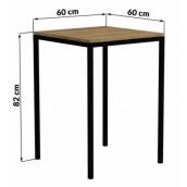 Барный стол в стиле LOFT (Bar Table-12)