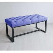 Банкетка-пуф для передпокою в стилі LOFT (Sofa-91)