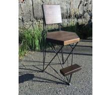 Барний стілець в стилі LOFT (Bar Stool - 08)
