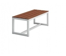 Обеденная скамейка в стиле LOFT 2400х450х450 (Bench-13)
