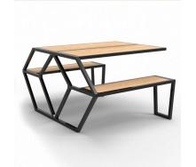 Садовый стол в стиле LOFT (Garden Table-09)