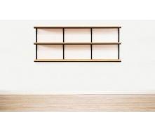 Навісна полиця в стилі LOFT (Wall Shelf-15)
