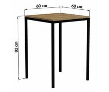 Барний стіл в стилі LOFT (Bar Table-12)