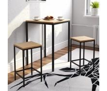 Барний комплект в стилі LOFT (Bar Table-15)