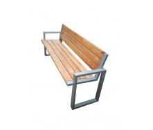 Лавочка парковая в стиле LOFT (Street Bench - 08)