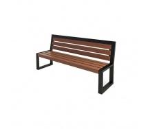 Скамейка парковая стиле LOFT (Street Bench - 29)