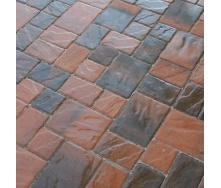 Тротуарная плитка Золотой Мандарин Венеция 60 мм латина