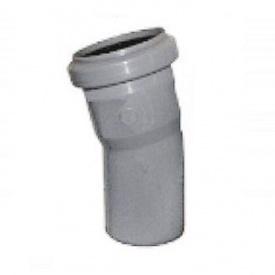 Уголок канализационный колено 50 мм 22°