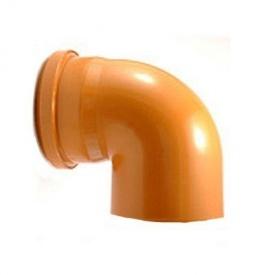 Уголок канализационный наружный колено 200 мм 90°